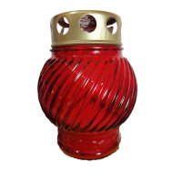 Л2122 Лампада церковная (стекло) заливная/бочонок